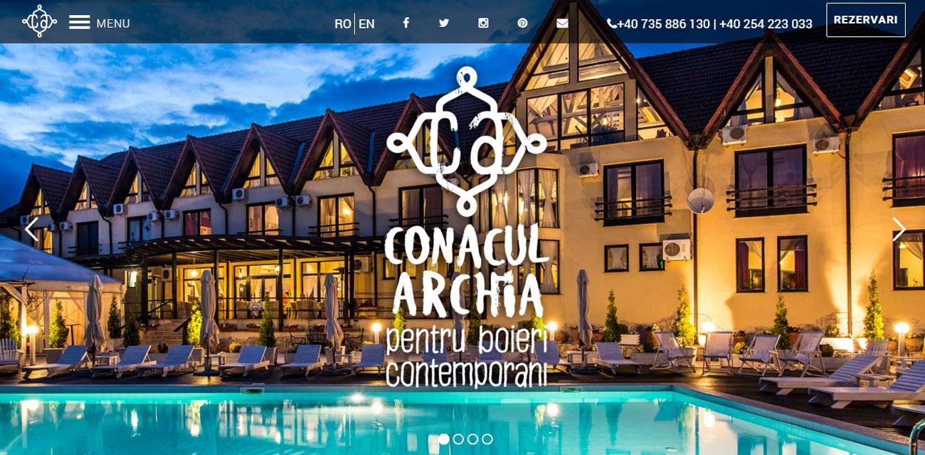conacul archia portofoliu inoveo site
