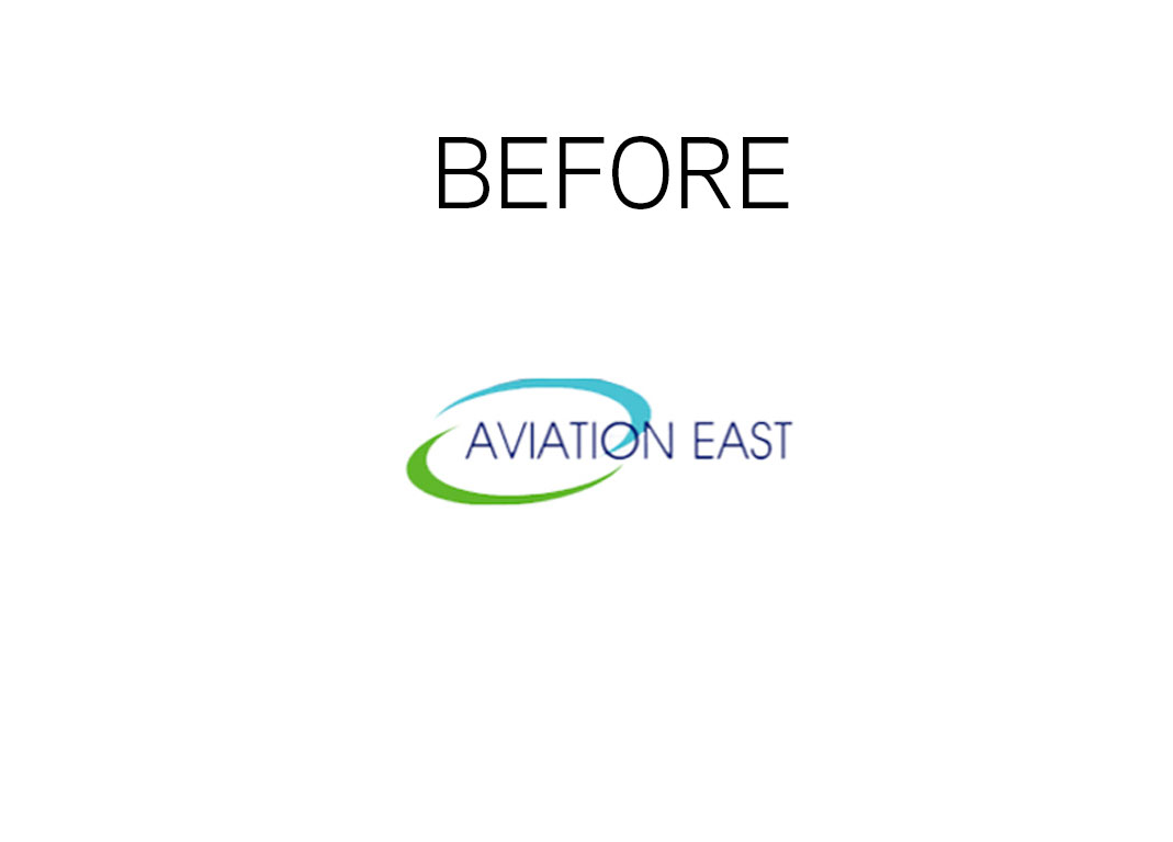 logo before branding aviation east