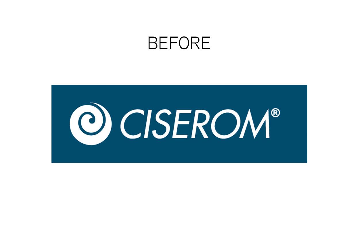 ciserom logo before portofoliu branding inoveo