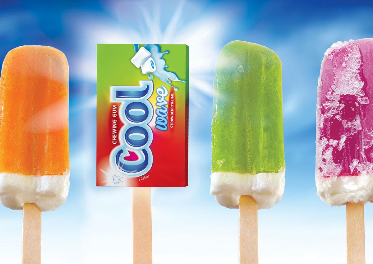 cool guma mestecat concept