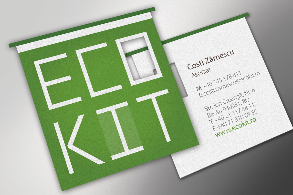 logo design ecokit real estate by inoveo site