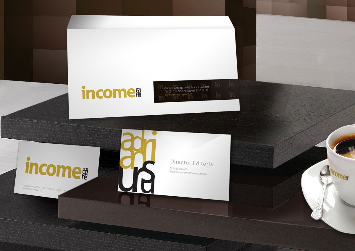 income branding stationary by inoveo