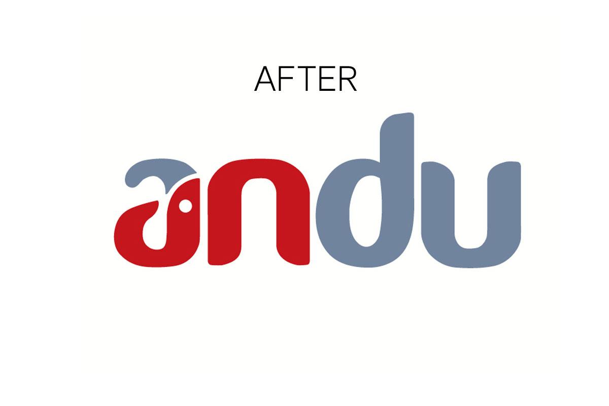logo andu before branding