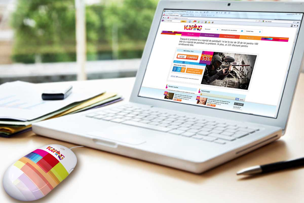 vulping web online branding