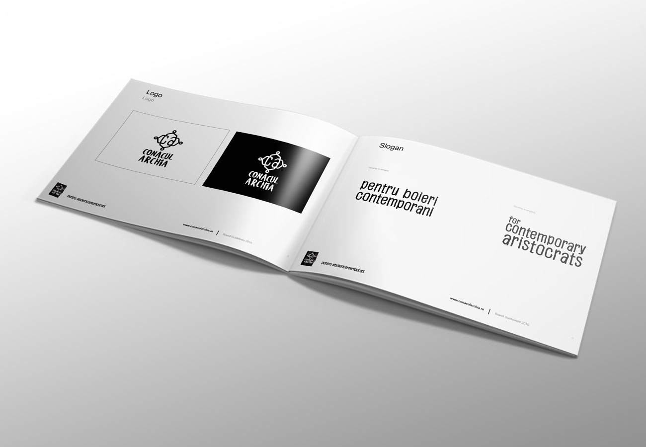 brandbook for conacul archia by inoveo