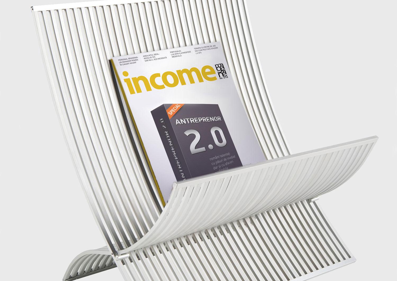 income revista branding header