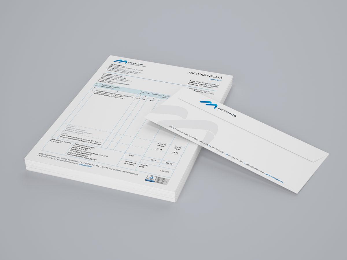 metamob portofoliu factura