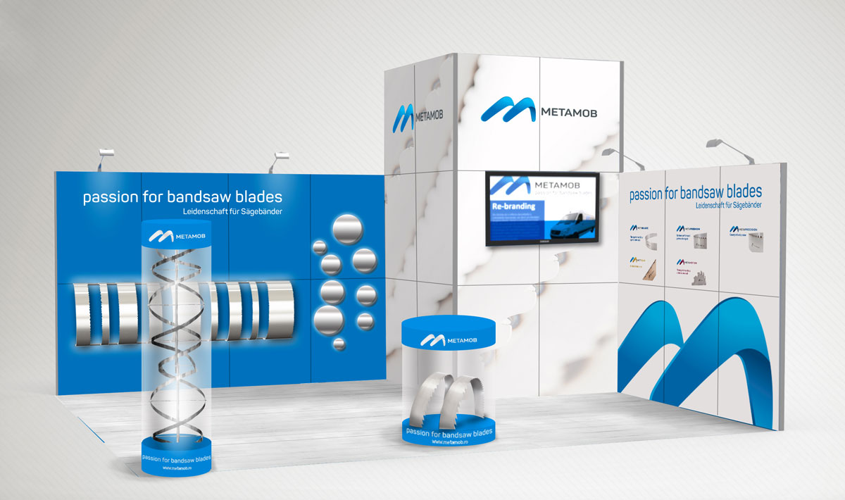 metamob portfolio exhibition stand