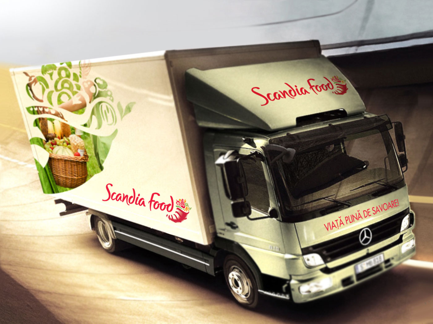 scandia food rebranding