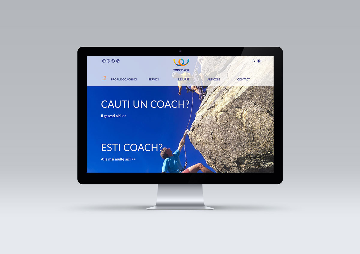 top coach website implementation by inoveo branding agency