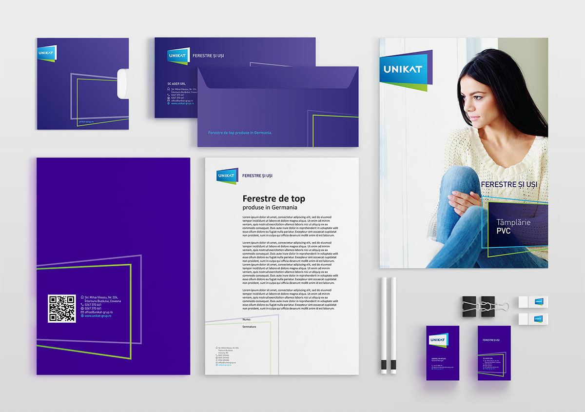unikat stationary materiale brand