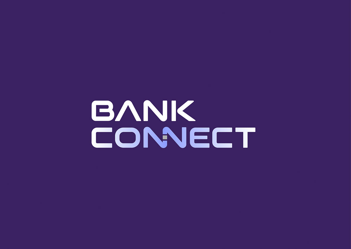 bank connect logo branding