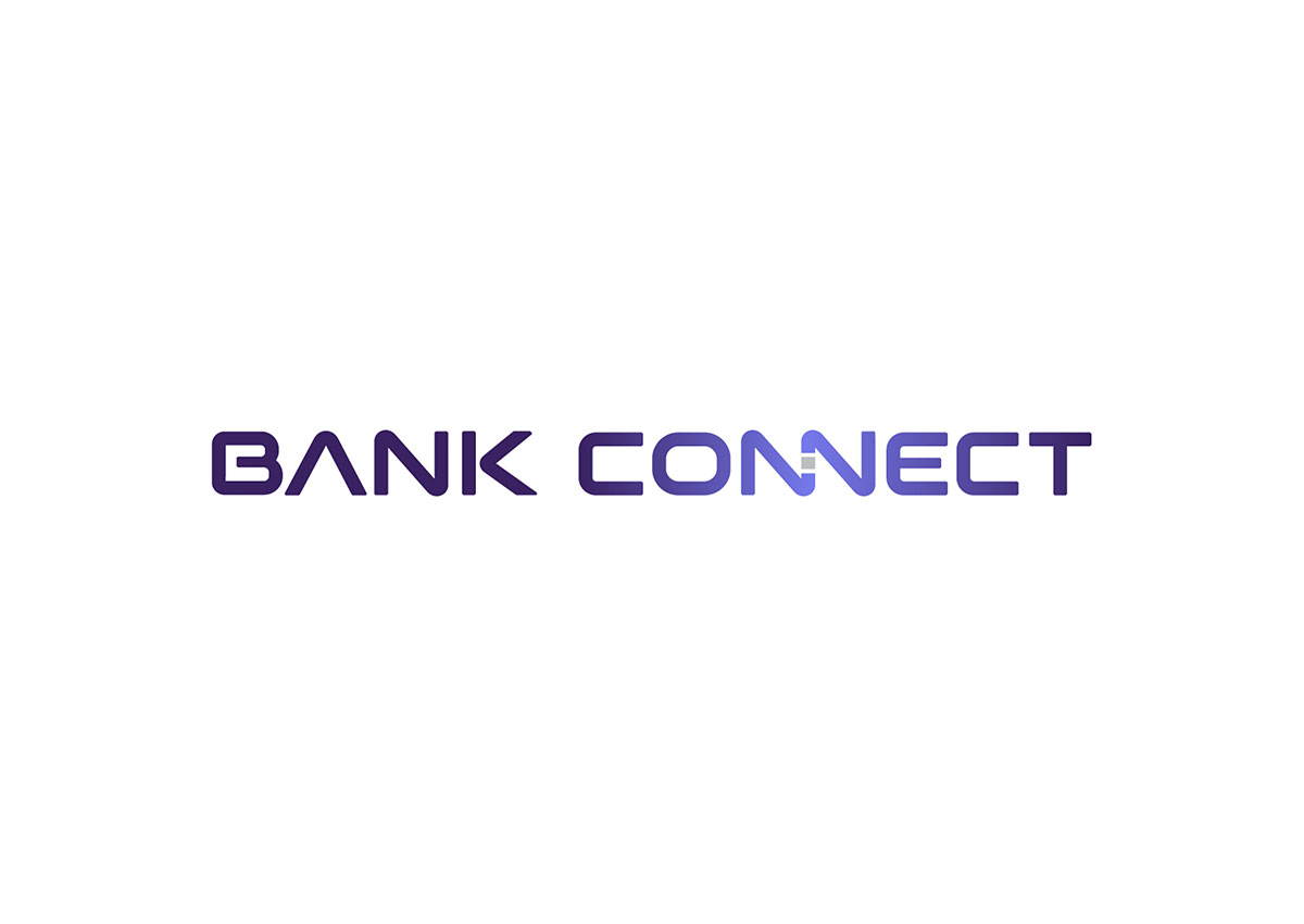 bank connect logo branding by inoveo