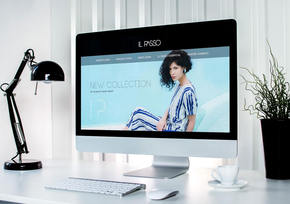 ilpasso rebranding webdesign