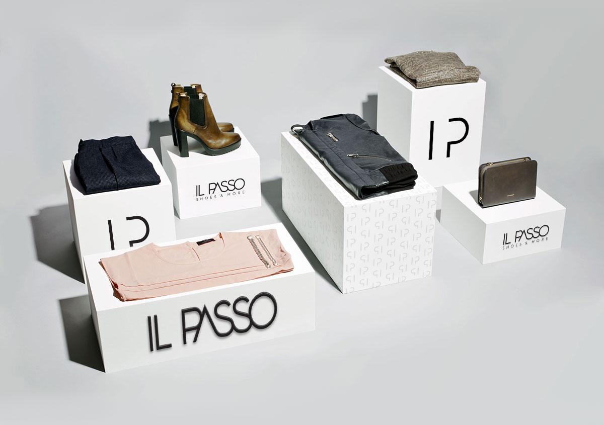 ilpasso stand incaltaminte design by inoveo