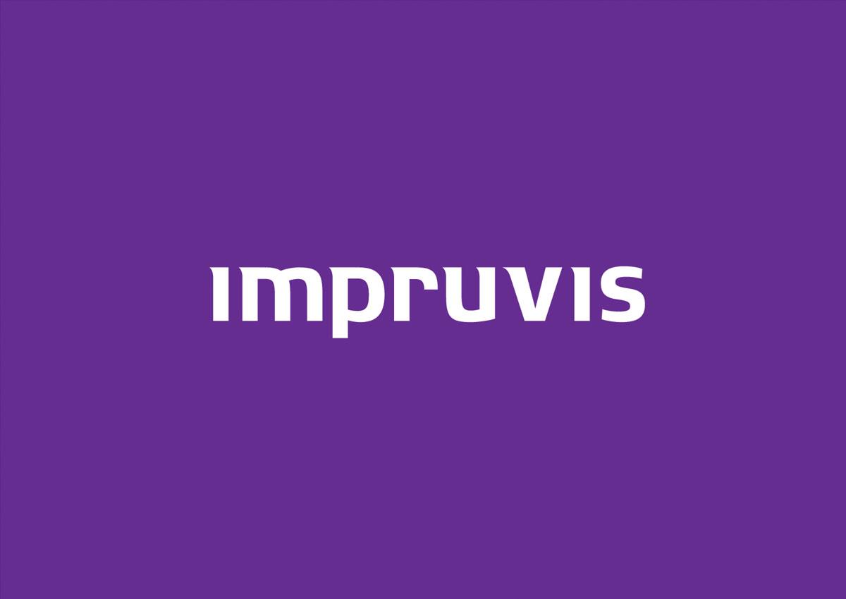 impruvis logo colored branding
