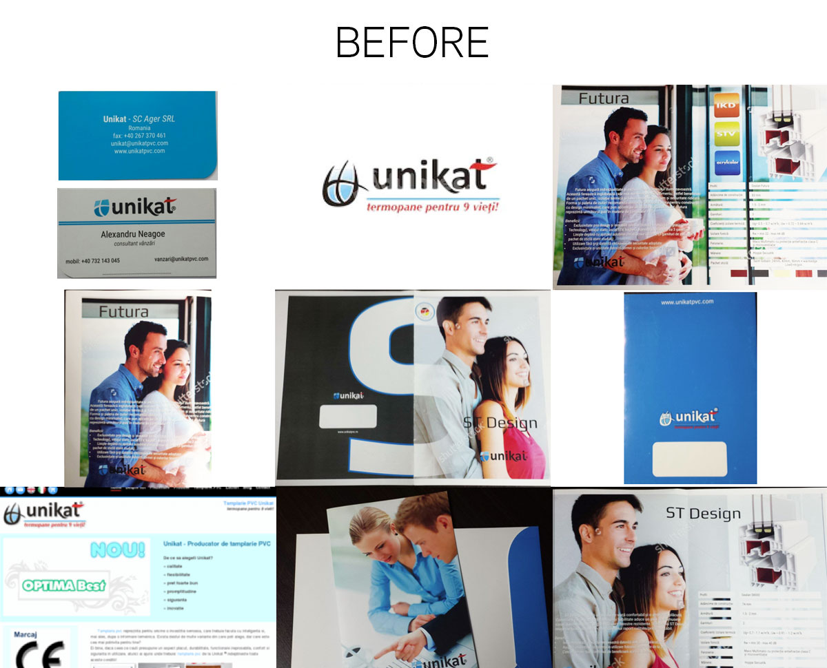 unikat materials before rebranding
