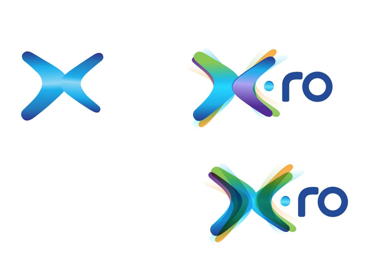 x.ro brand logo creatie inoveo