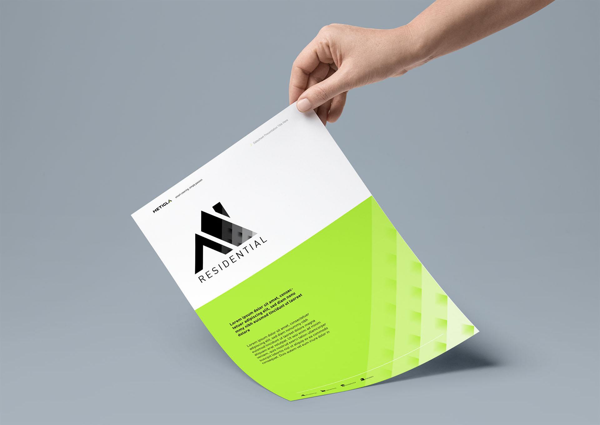 metigla branding sheet