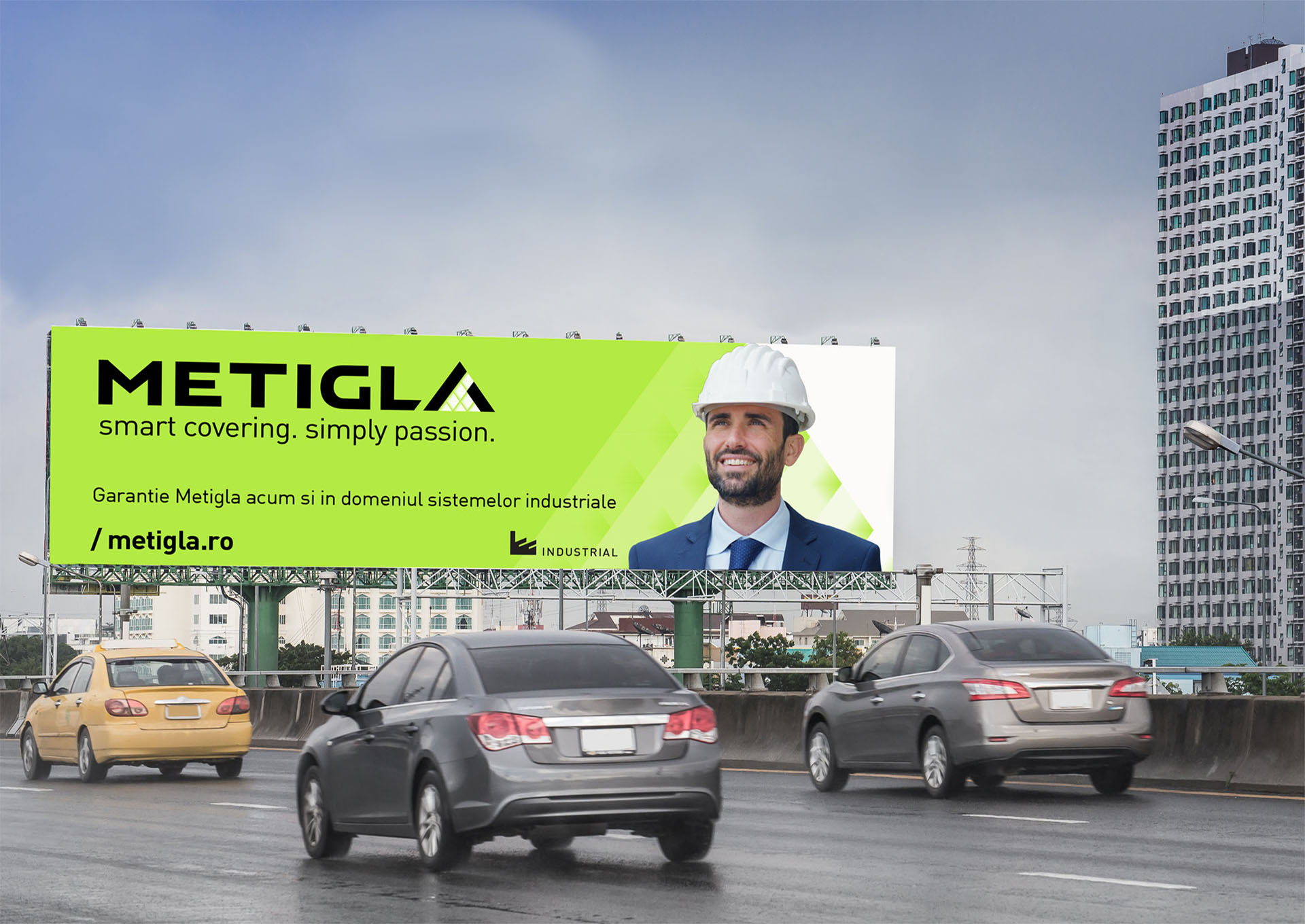 metigla branding outside