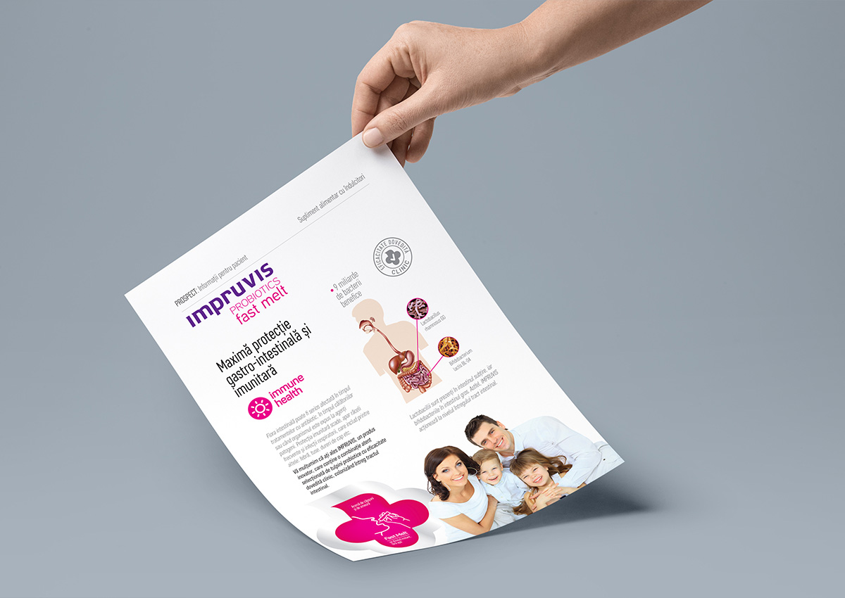 impruvis flyer design branding
