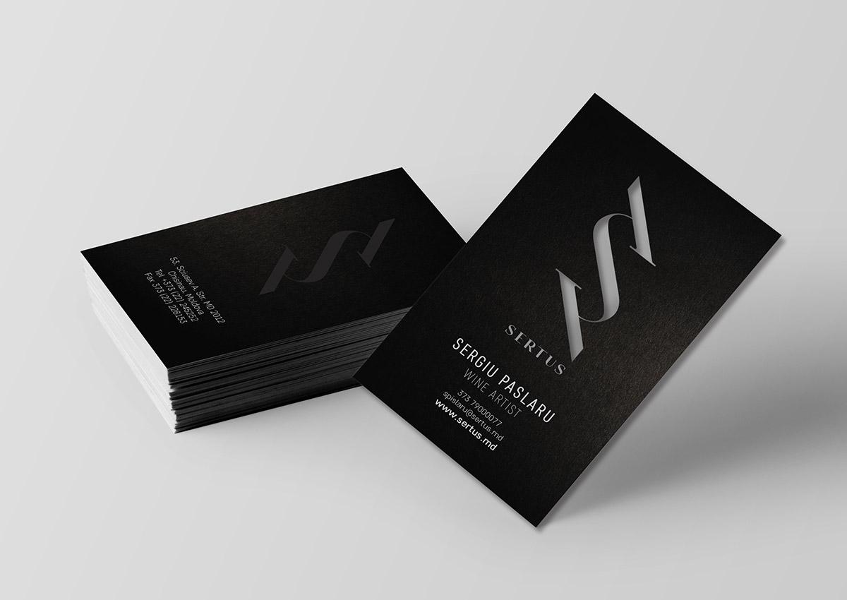 Sertus carte de vizita branding inoveo