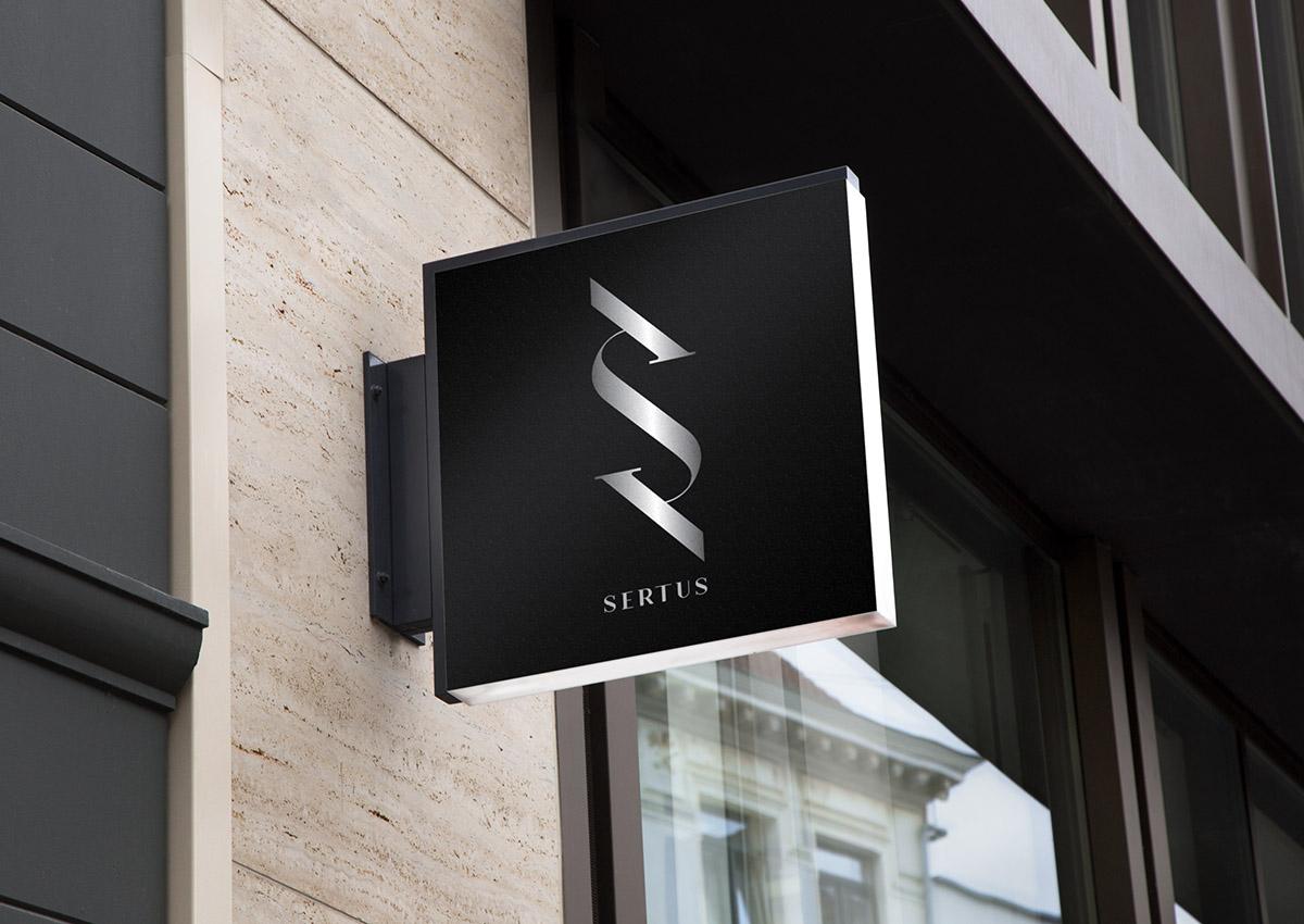 Sertus street sign branding inoveo
