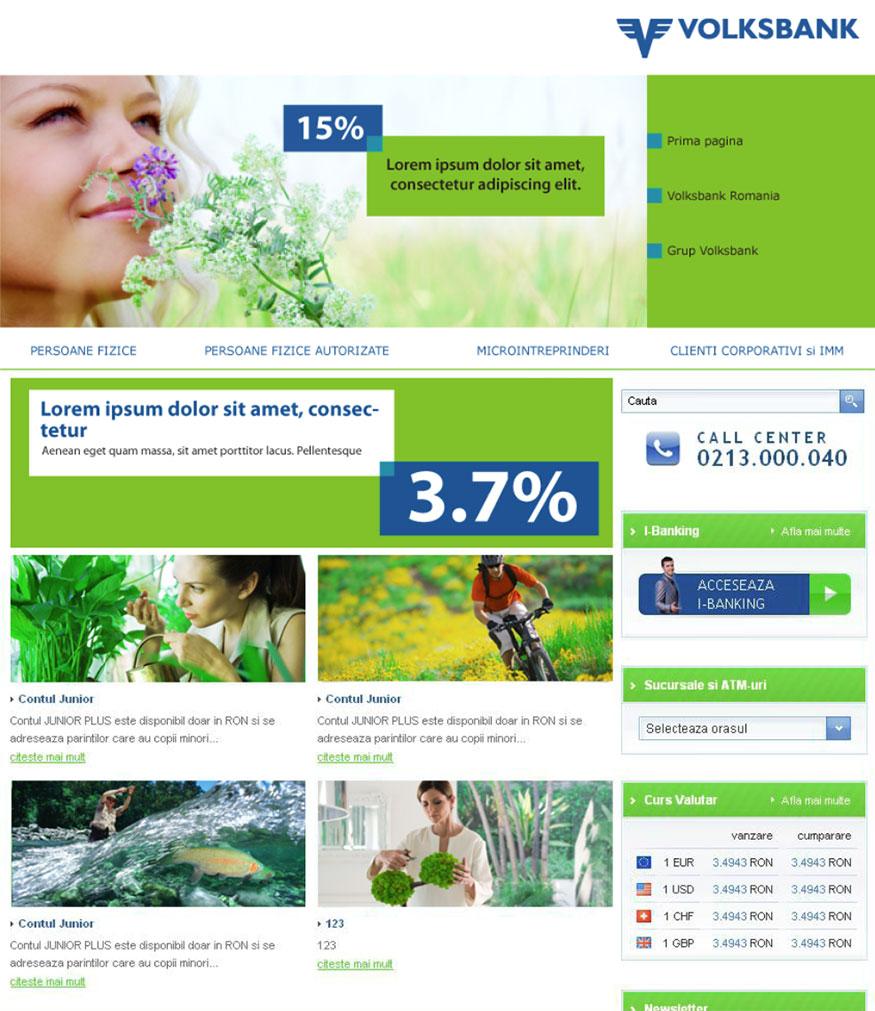 volksbank site portofoliu inoveo