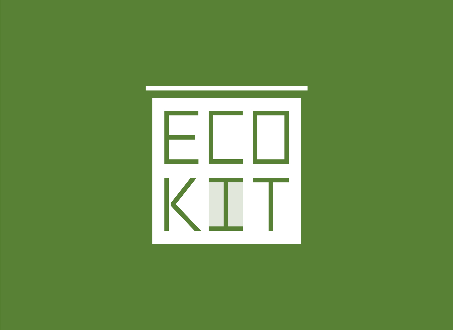 logo design ecokit real estate by inoveo