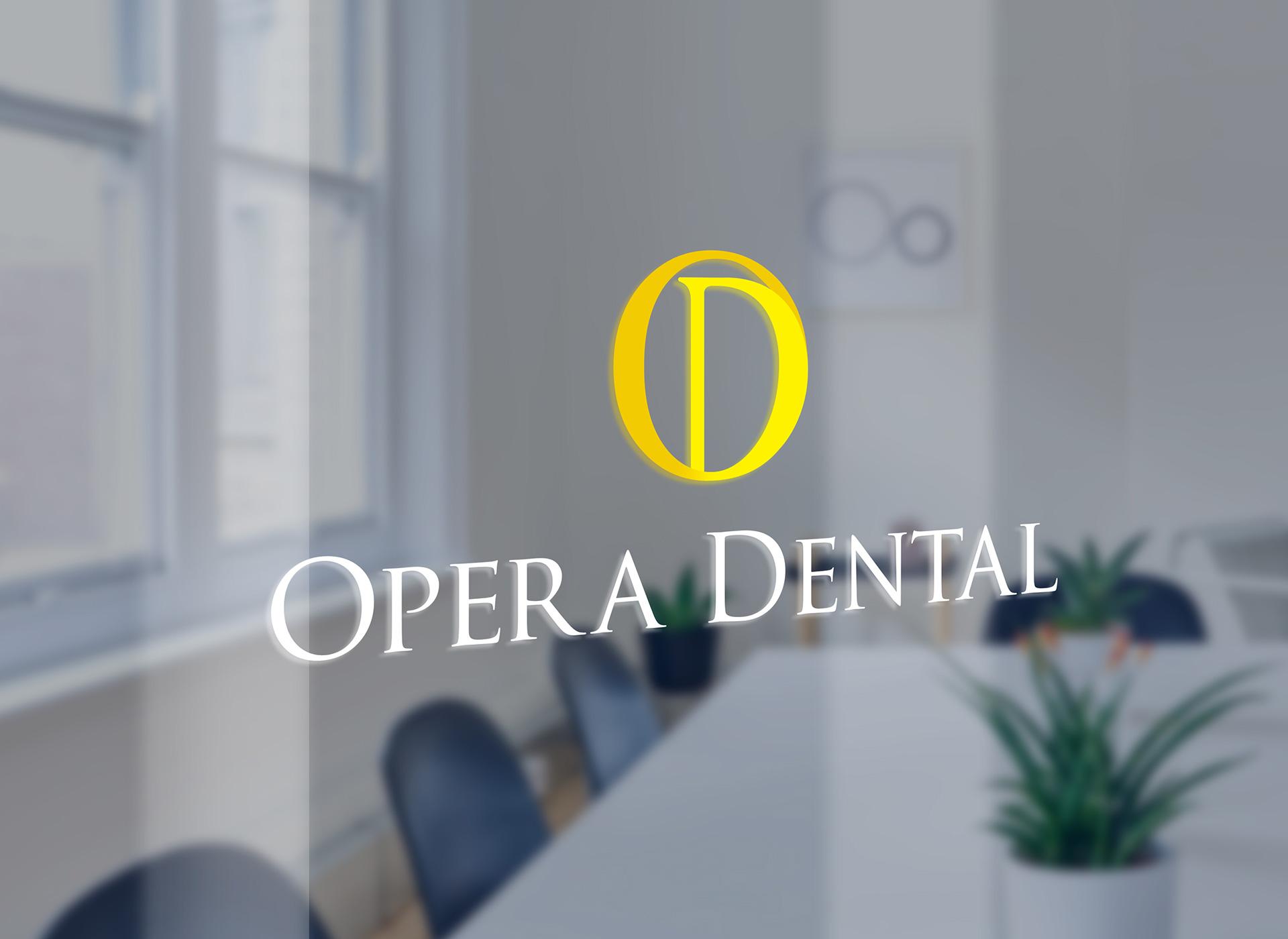 opera dental branding