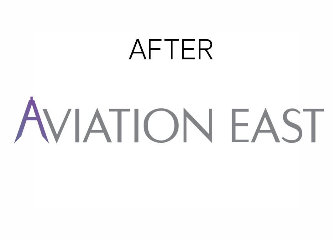 logo after branding aviation east