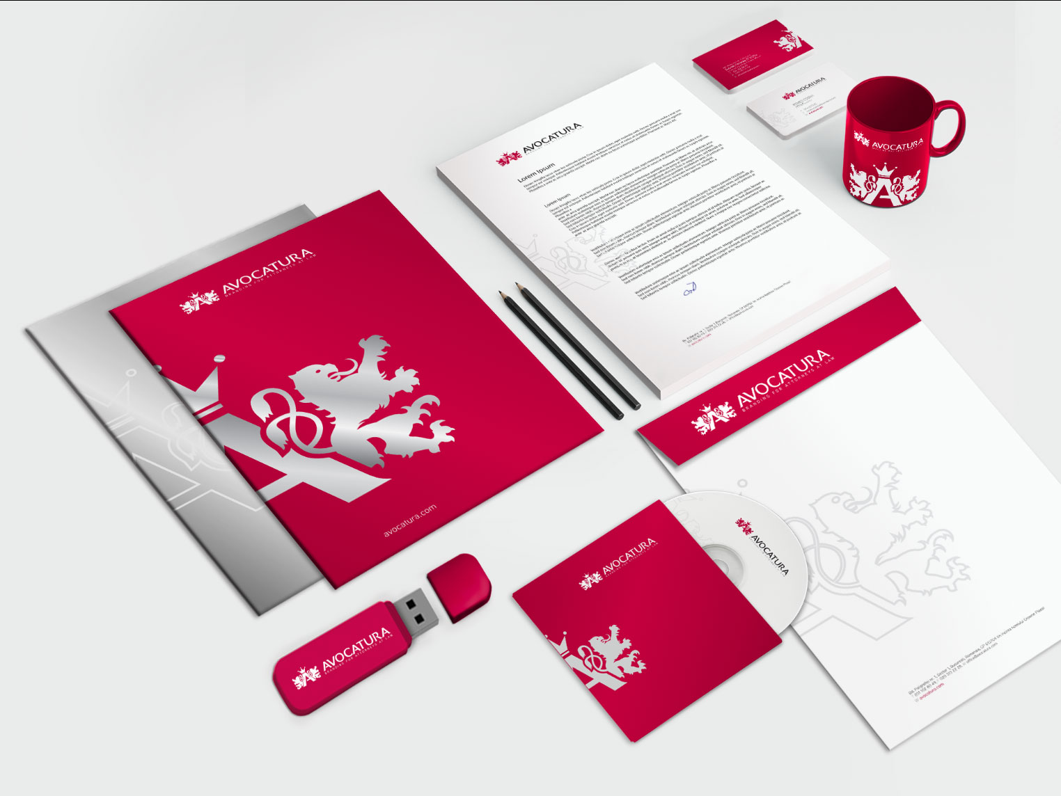 avocatura com stationary design