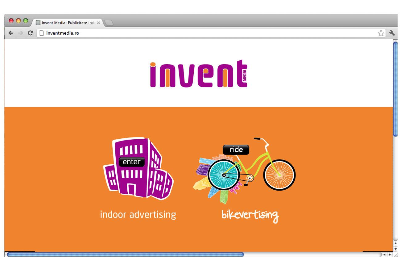 bikevertising webdesign project by inoveo