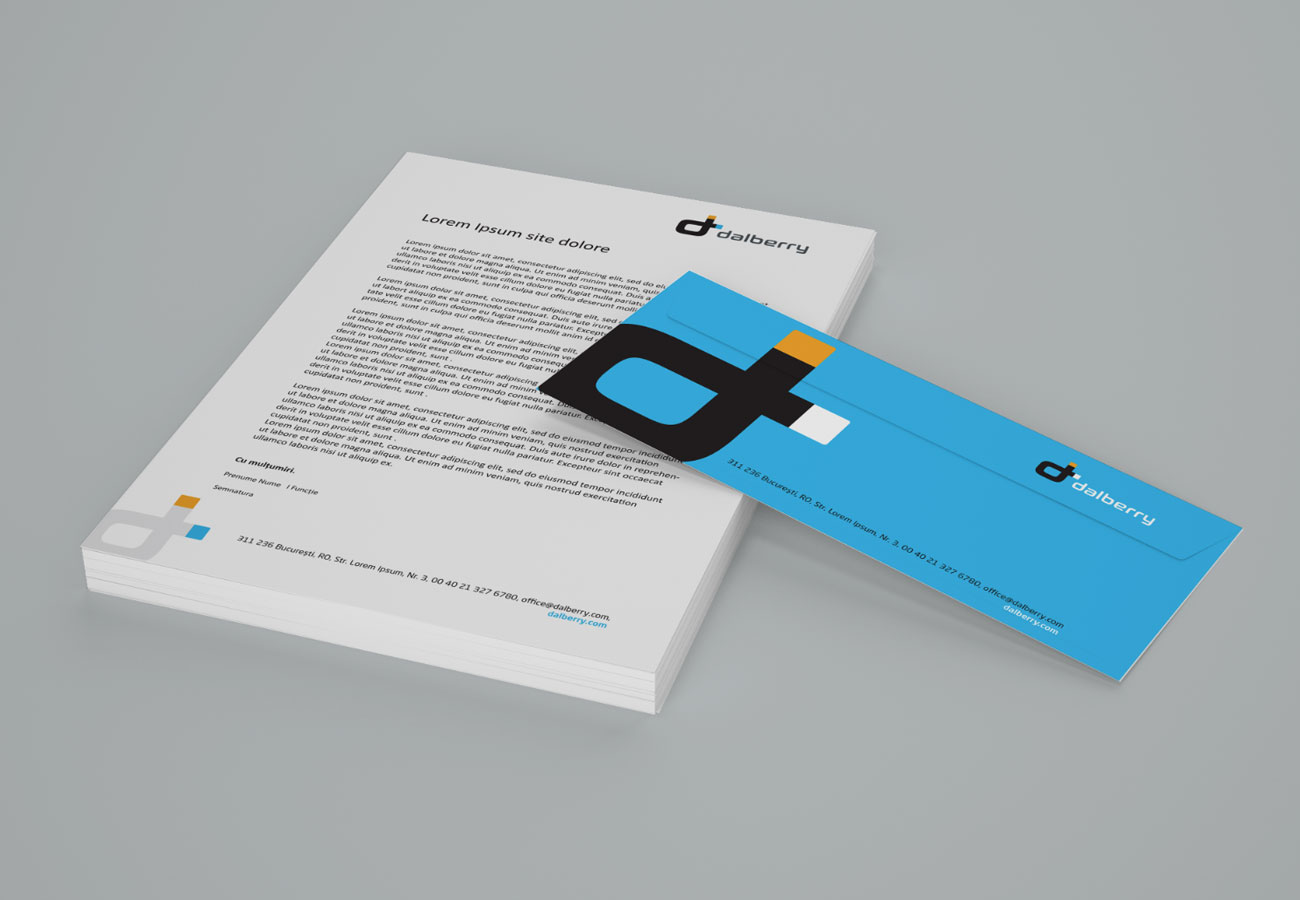 branding inovativ stationary dalberry