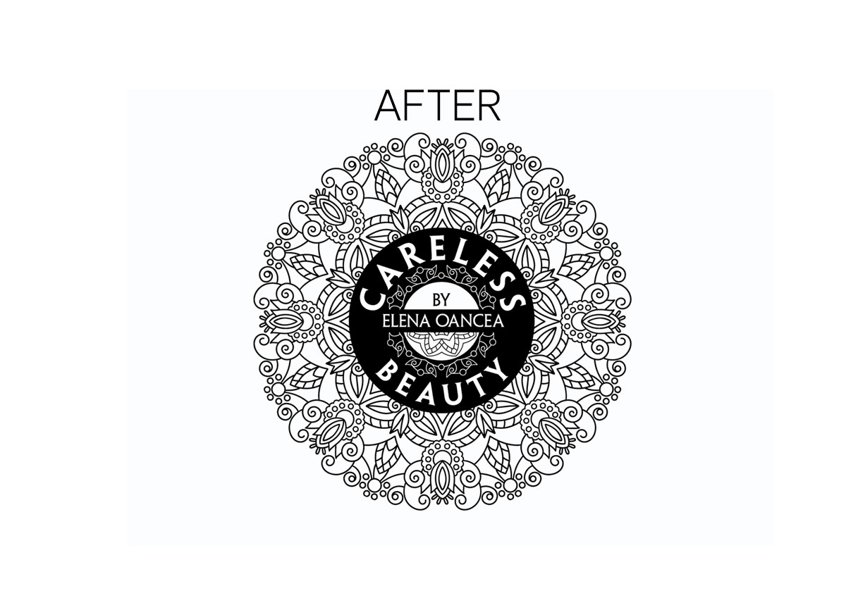 careless beauty after rebranding logo