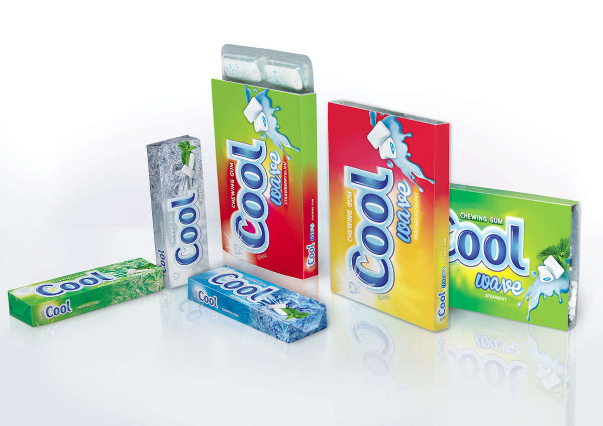 guma cool package design