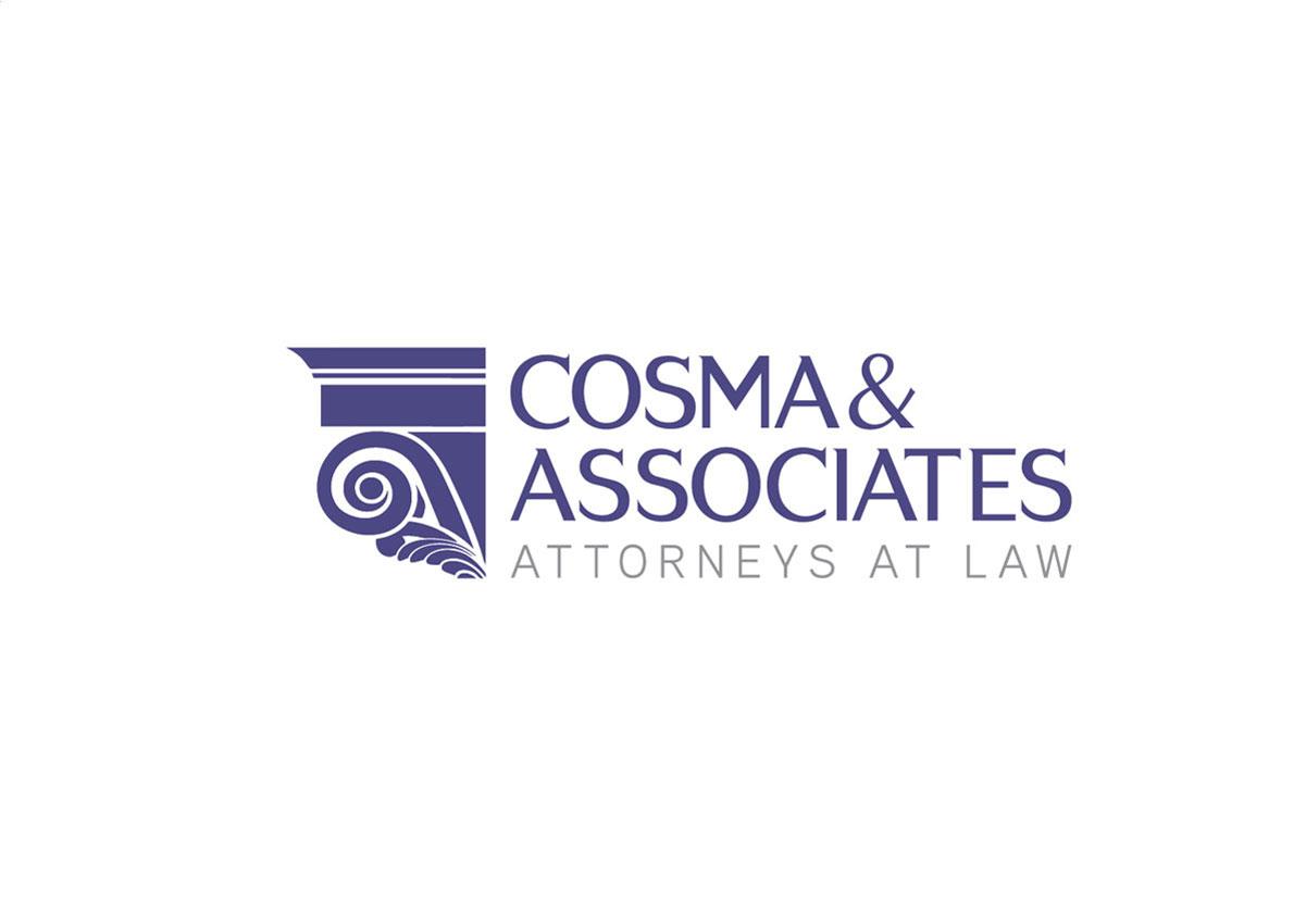 cosma asociatii logo design by inoveo