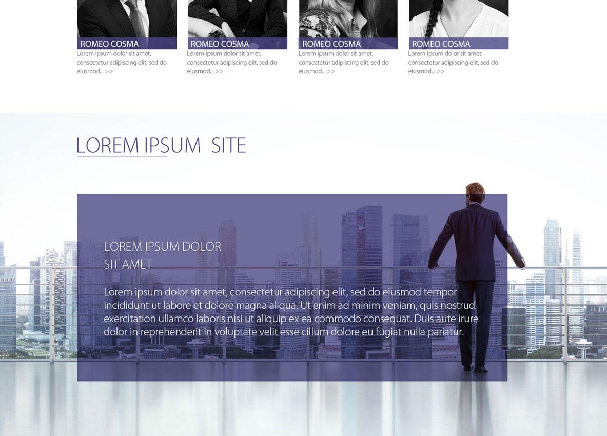 cosma si asociatii inoveo webdesign concept