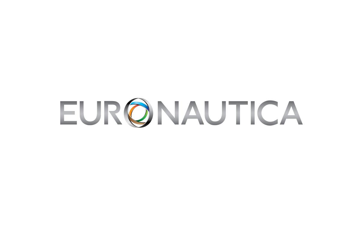 euronautica branding logo white