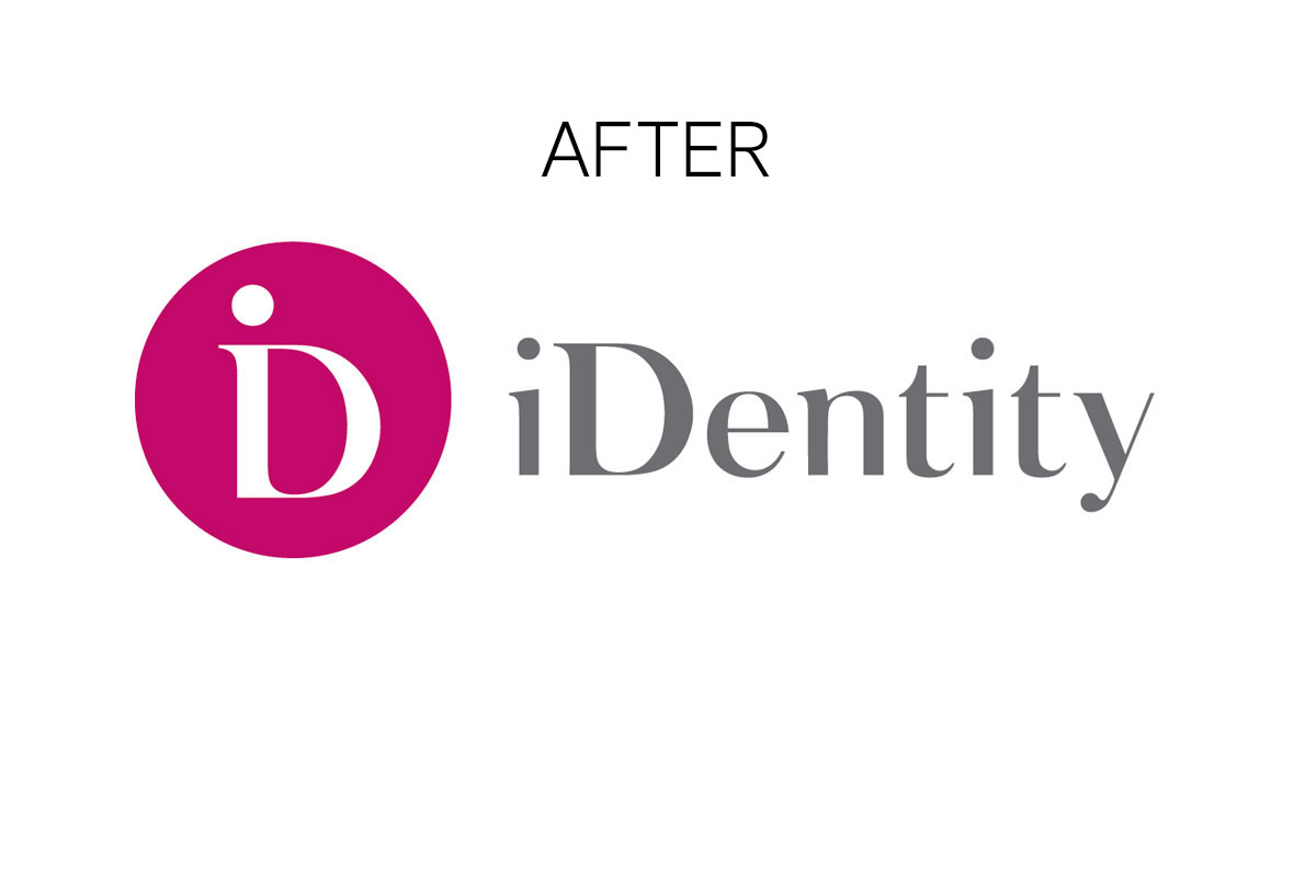 identity logo after rebranding