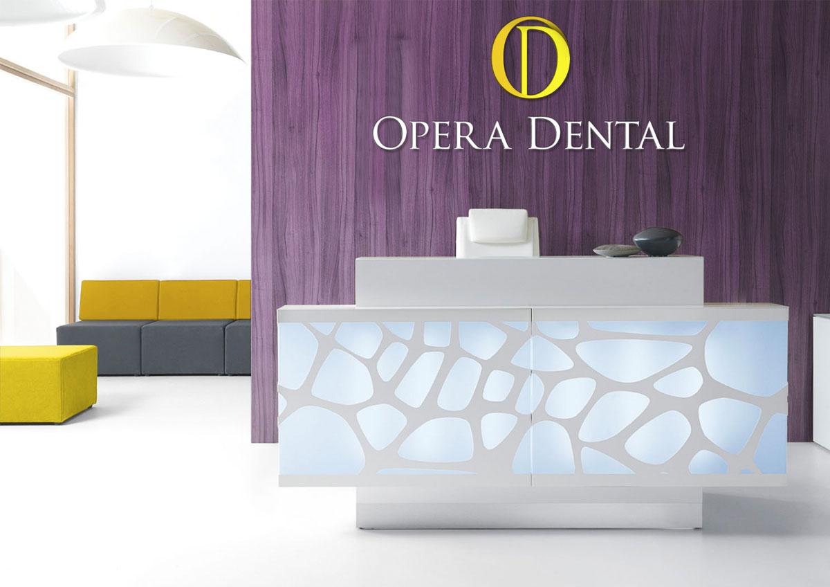 opera dental branding environmental