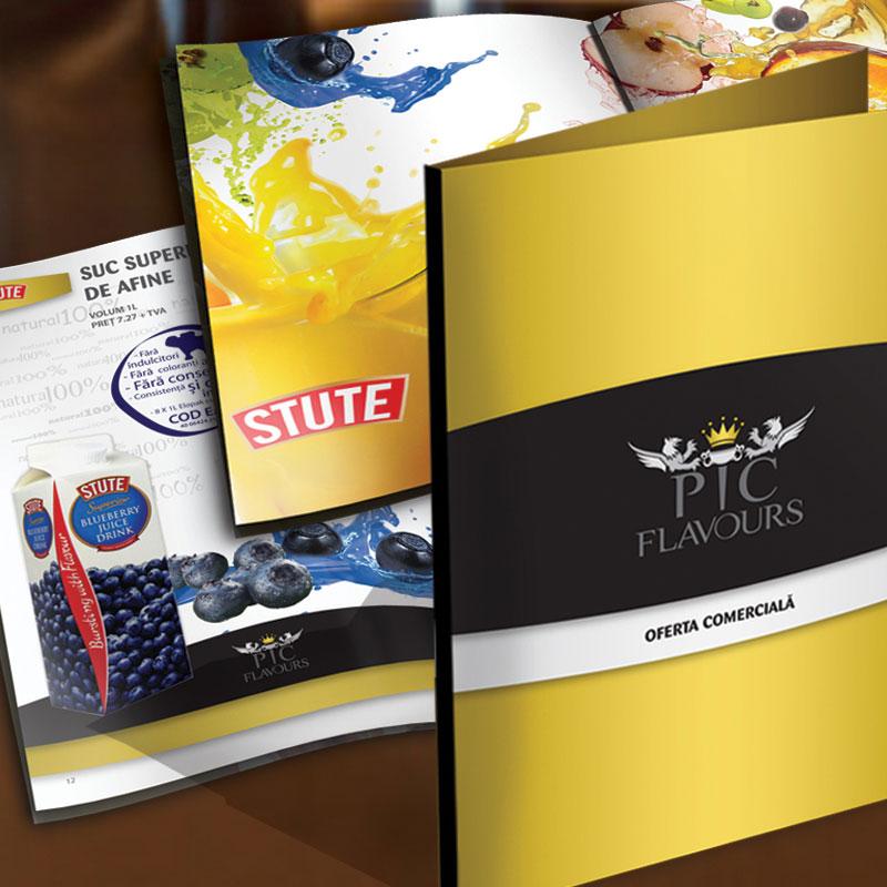pic flavours promotionale portofoliu inoveo