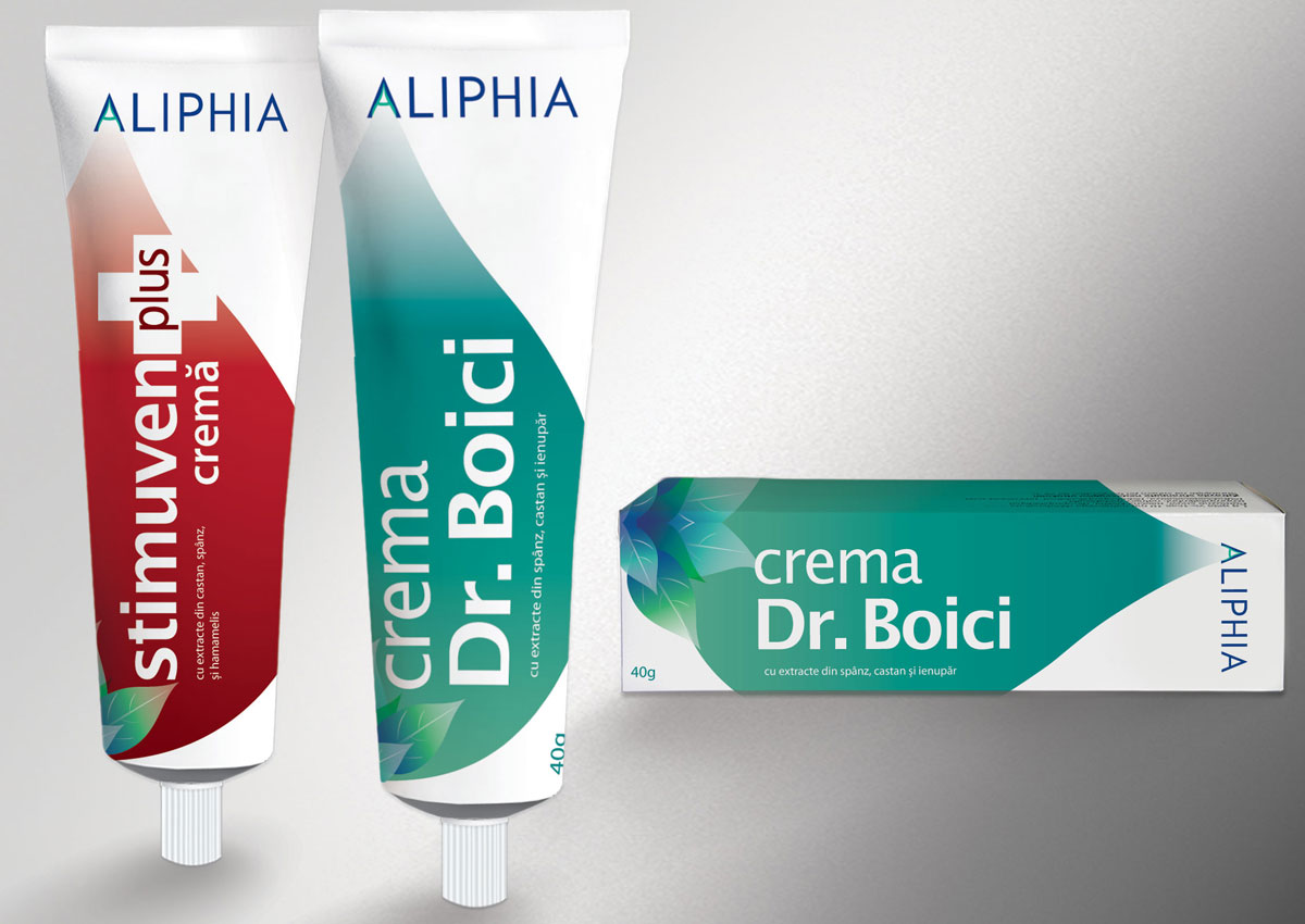 portofoliu inoveo aliphia package design