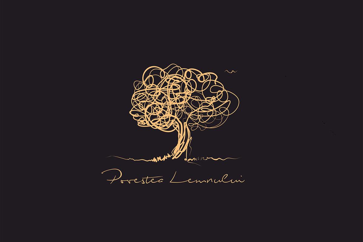 povestea lemnului logo design by inoveo