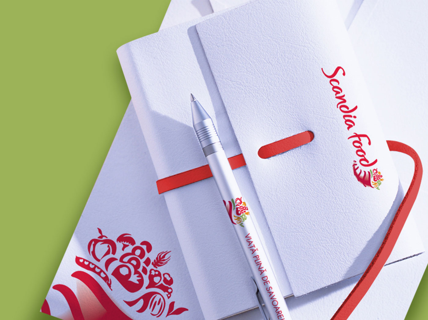 scandia food rebranding stationary inoveo