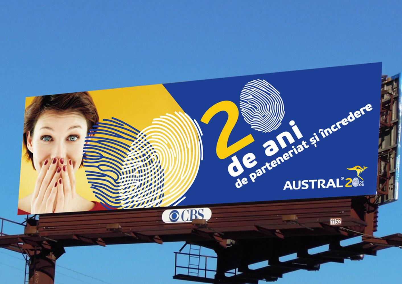 austral header titlu branding