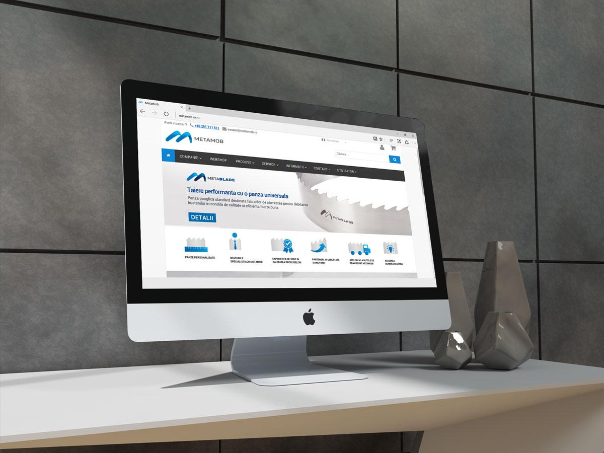 metamob portofoliu site prezentare