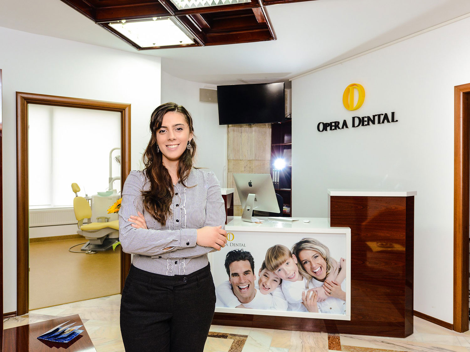 opera dental header branding project