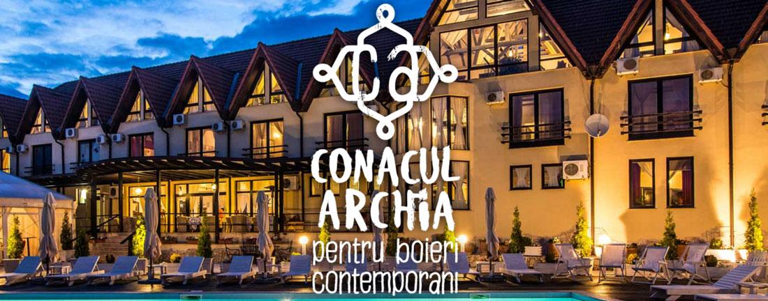 proiect conacu archia rebranding