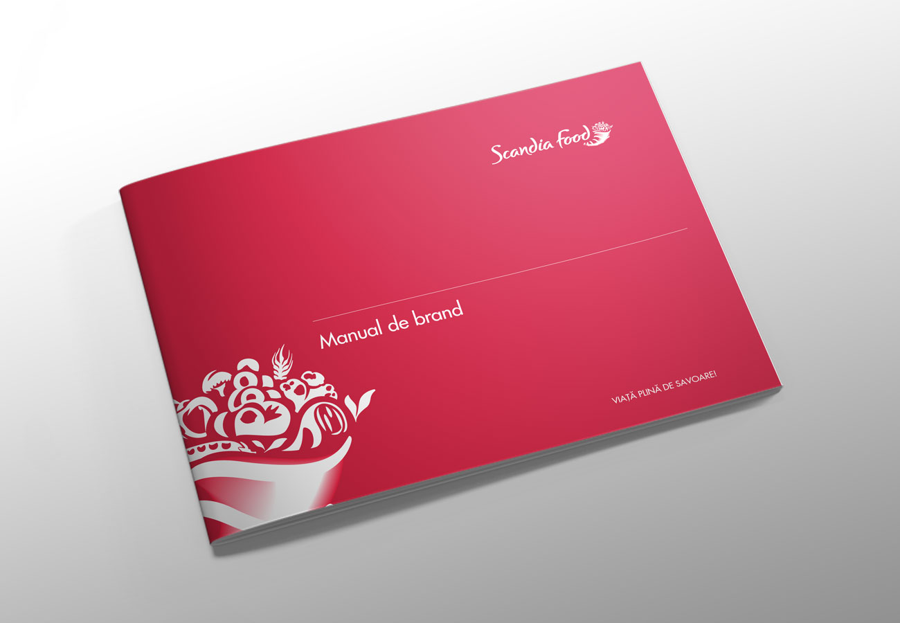 scandia food brandbook by inoveo
